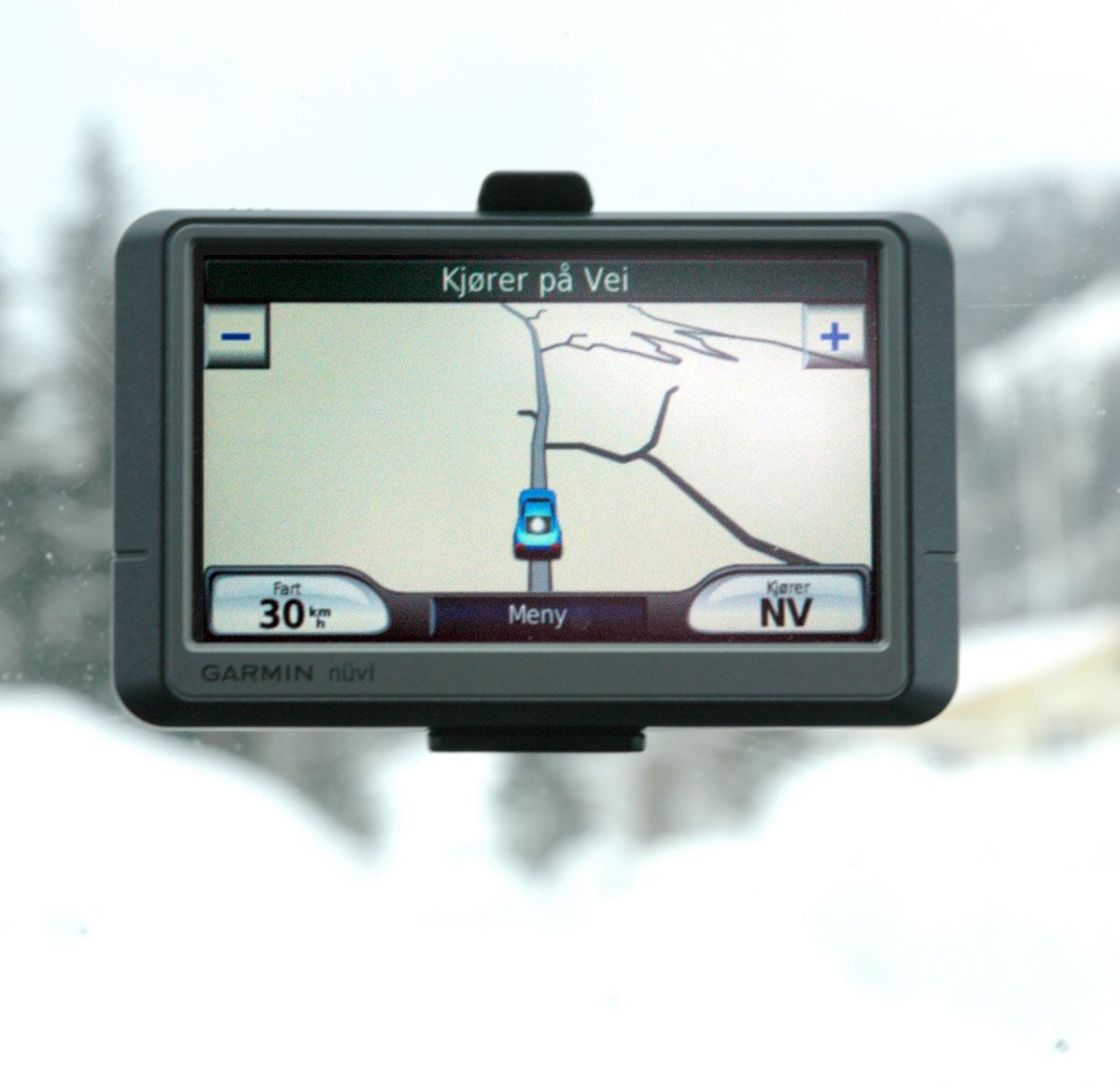 At man kjører på vei kan være en sannhet med modifikasjoner under norske vinterforhold.