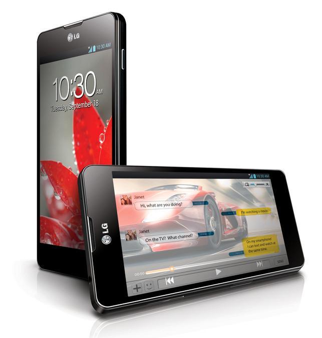 Det er ventet at LG Optimus G vil komme i en Nexus-utgave.Foto: LG
