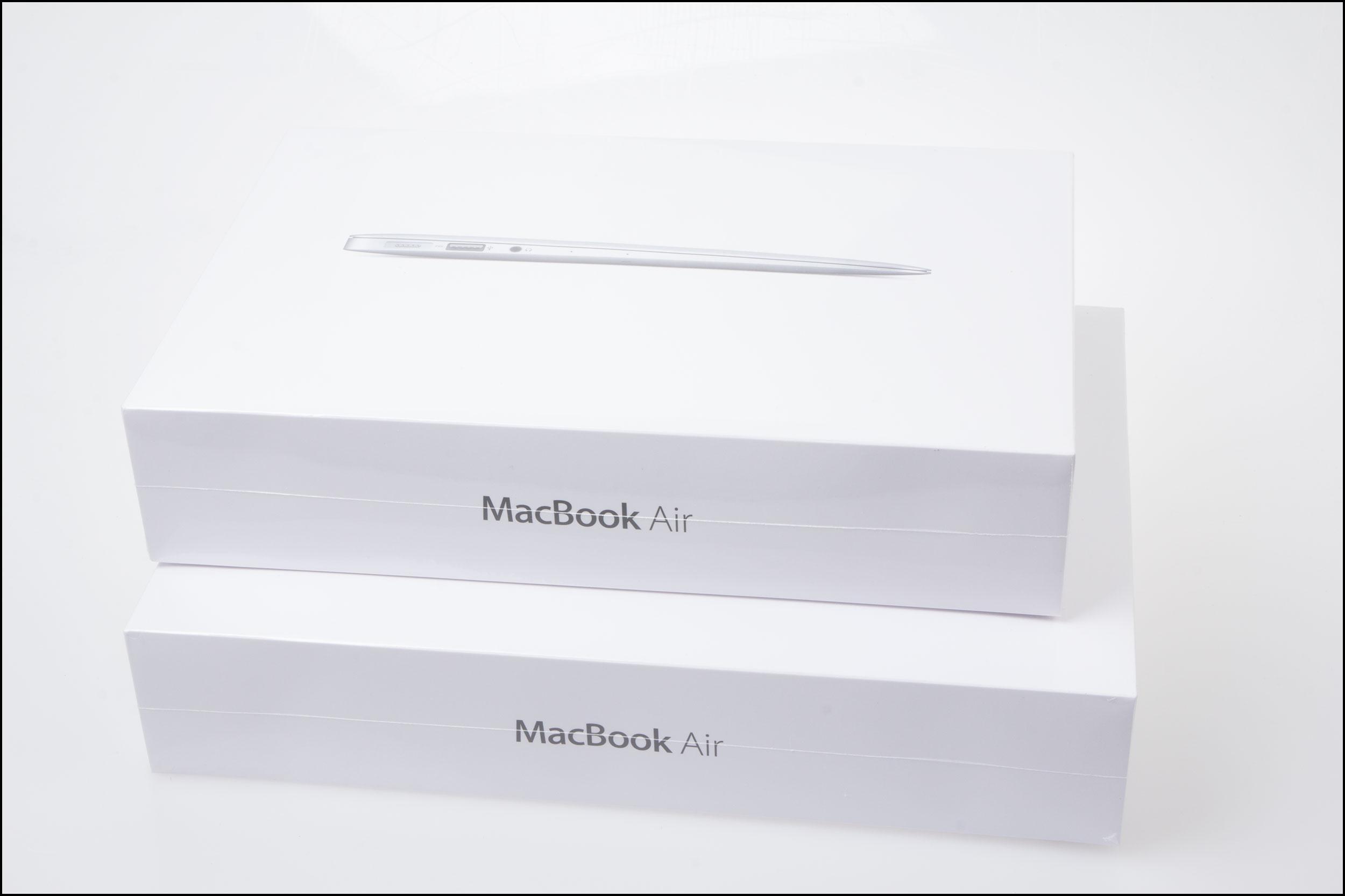 To stykk MacBook Air.Foto: Jørgen Elton Nilsen, Hardware.no
