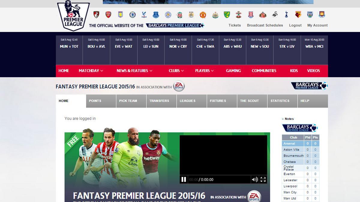 Nå er det avspark i Fantasy Premier League