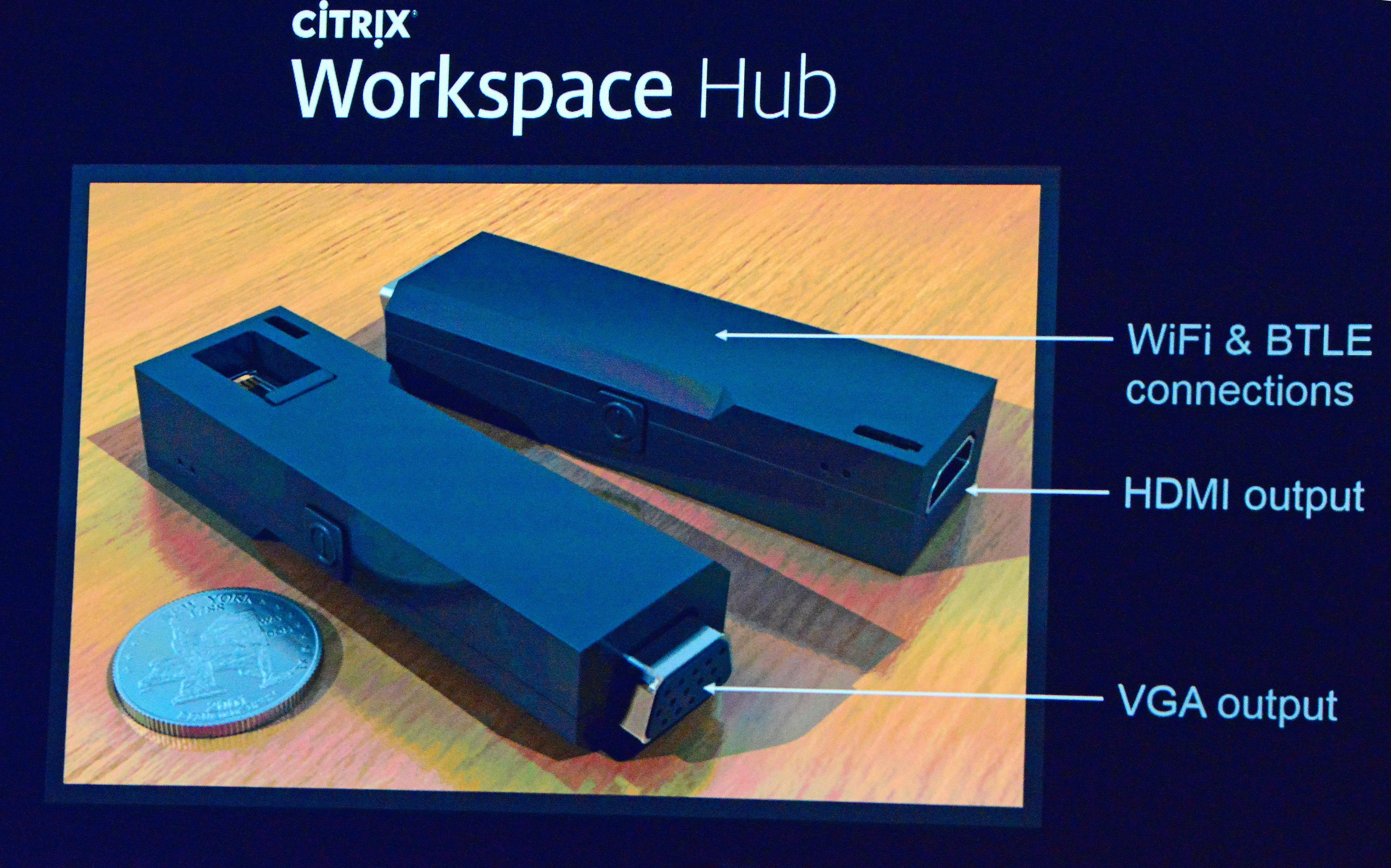 Citrix Workplace Hub: En prototype på en integrasjons-
