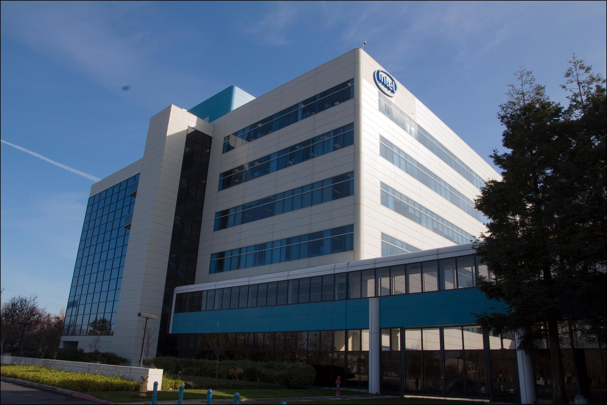 Intels kontorer i Santa Clara.