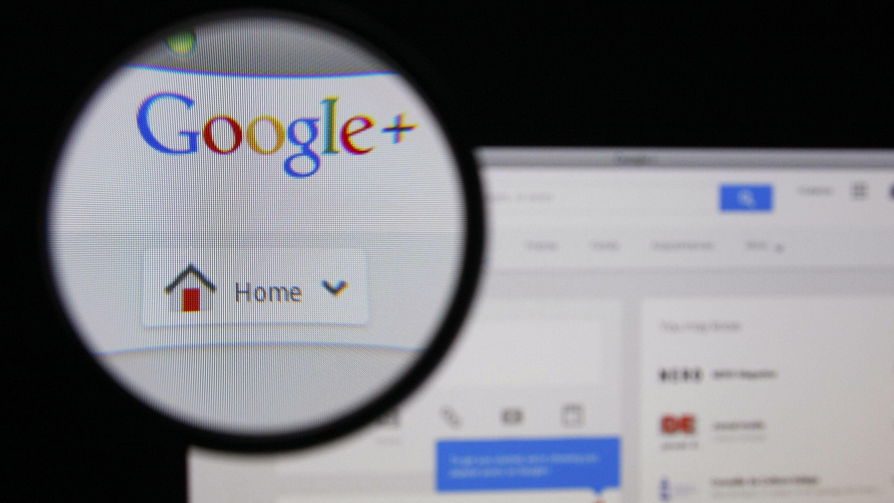 Google+ kan snart være historie