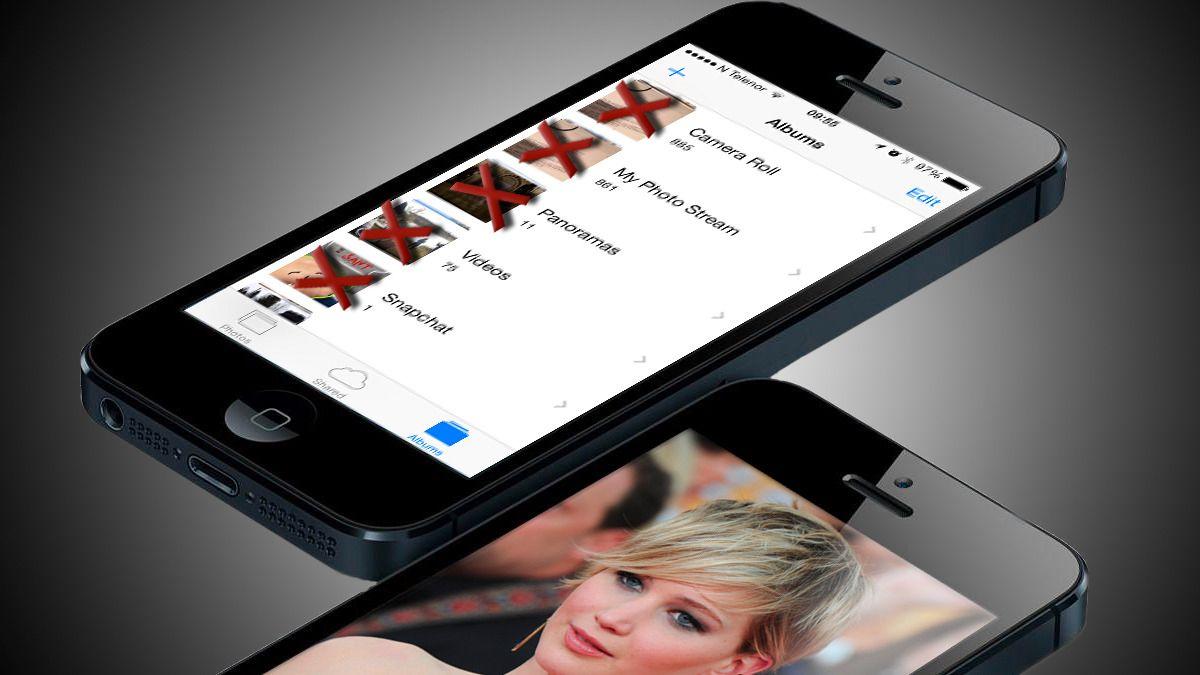 Slik sletter du bildene fra iCloud, og ikke bare telefonen