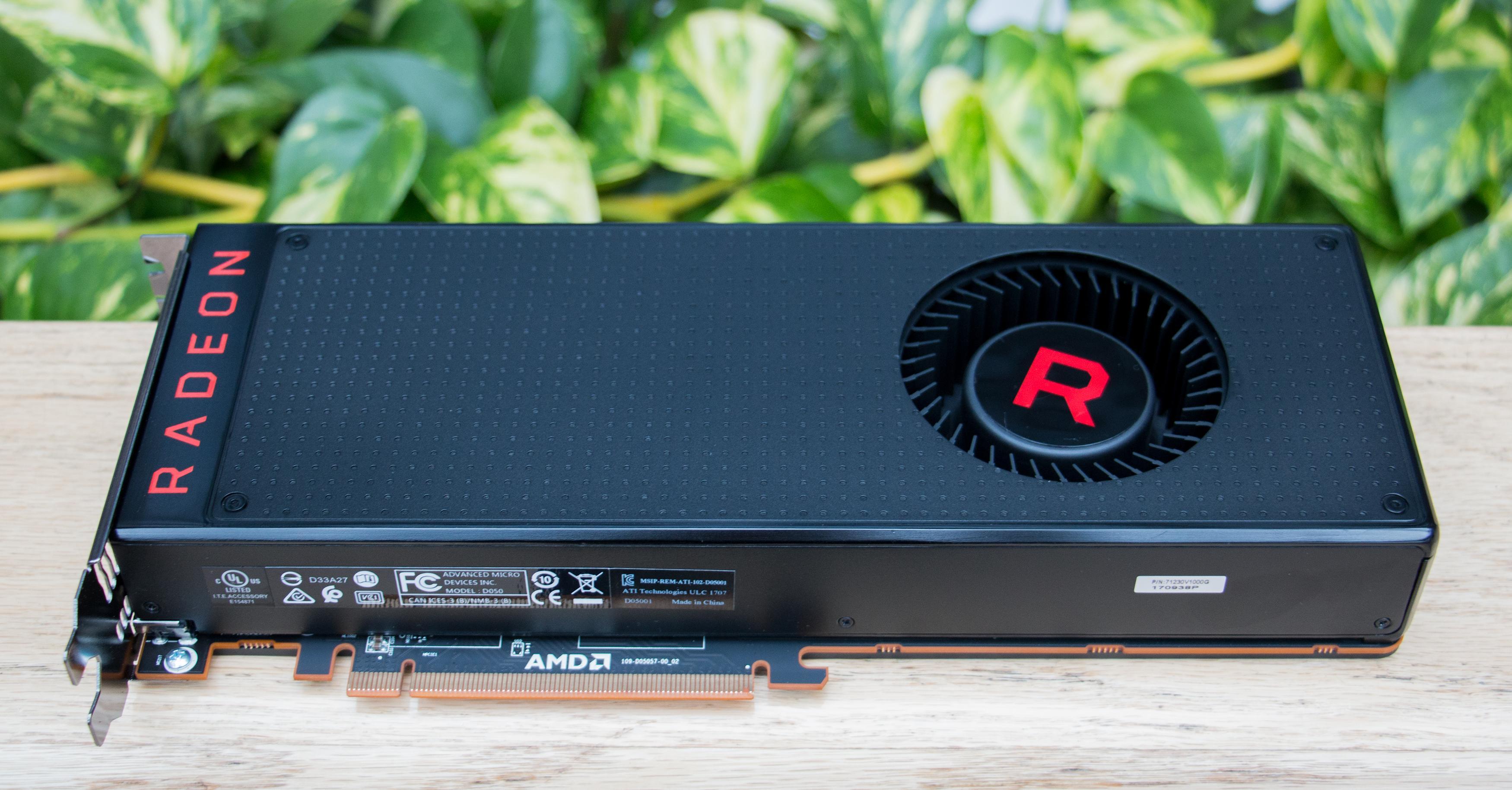 Særlig grønt er ikke RX Vega 64, med et strømforbruk under last på opp mot 410 watt sammen med resten av systemet..