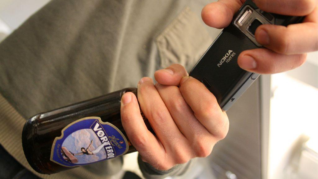 Er flaskeåpning normal mobilbruk?