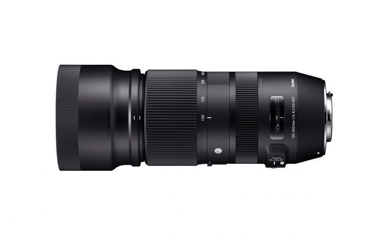 Sigma 100-400mm.