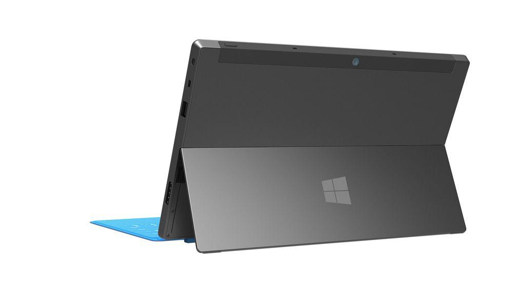 Slik ser baksiden ut med foten ute. Foto: Microsoft
