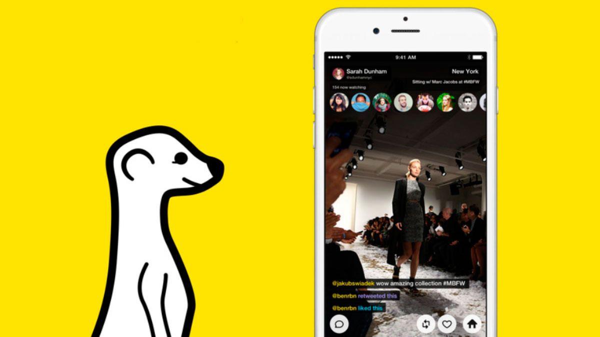 Ukens snakkis er video-appen Meerkat