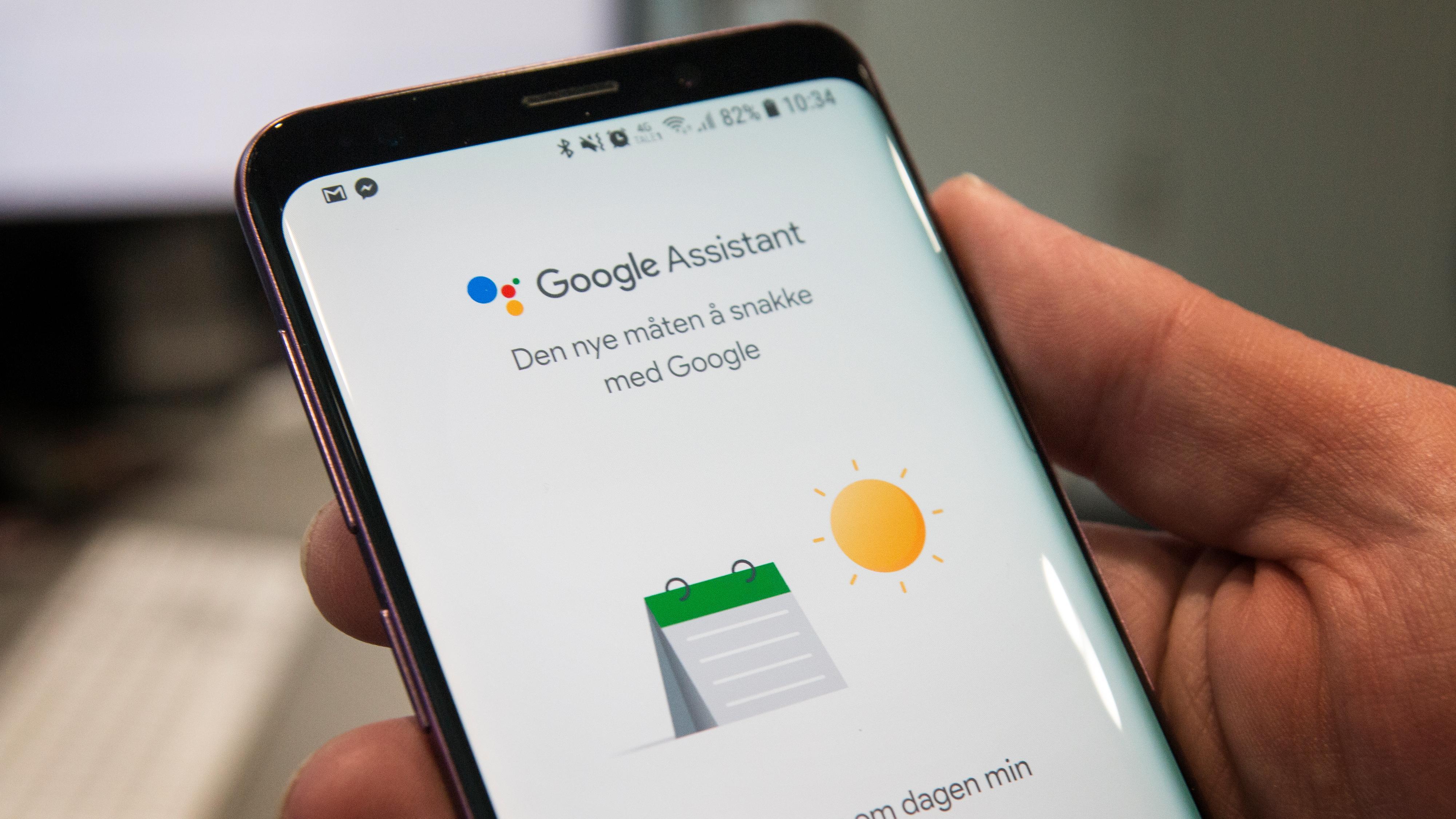 Google Assistant har kommet til Norge