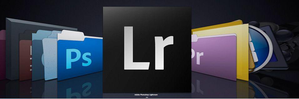 Oppdaterer Lightroom og Photoshop