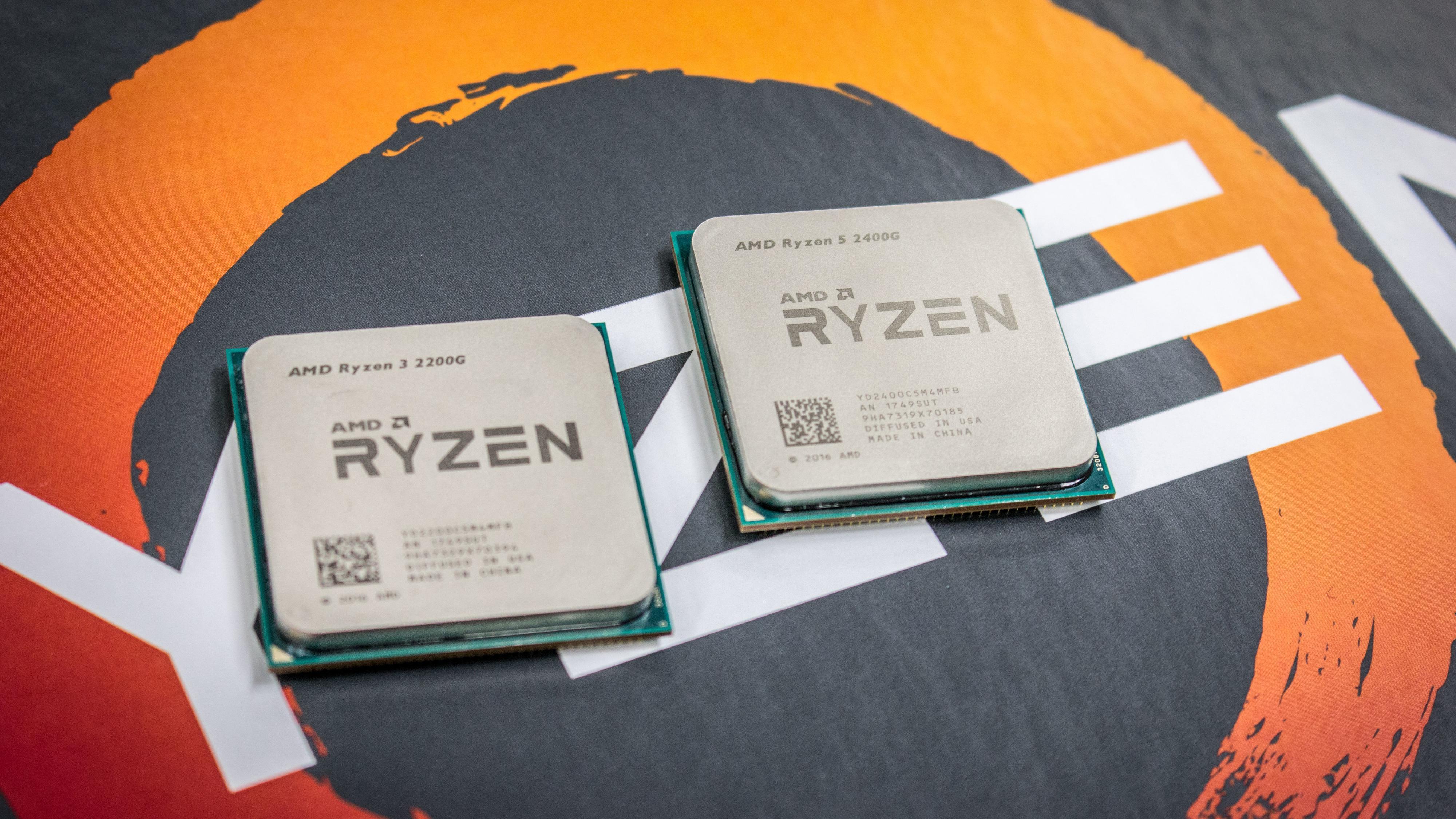 AMD Ryzen 5 2400G og Ryzen 3 2200G