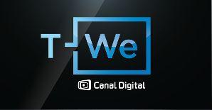 Slik blir logoen til T-We.Foto: Canal Digital