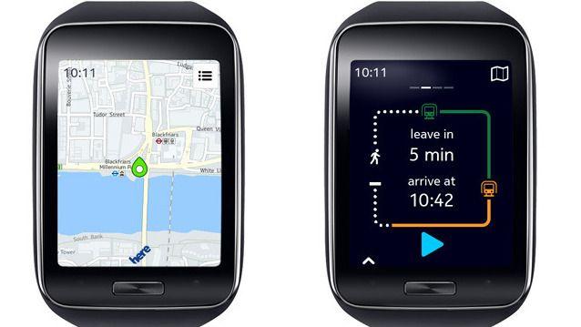 Samsung-telefoner får Nokia-kart