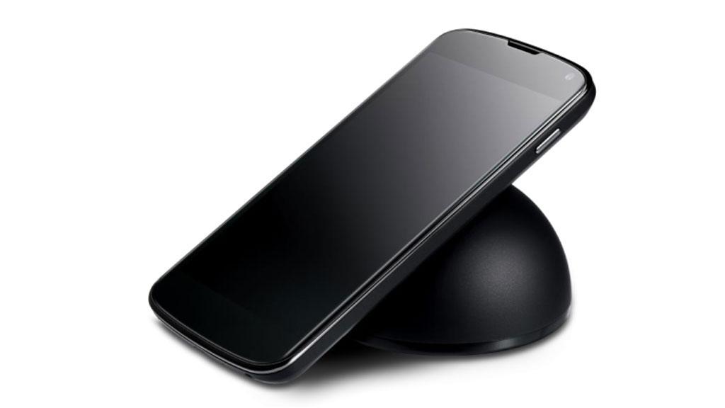 Nexus 4 får trådløs lading.Foto: LG