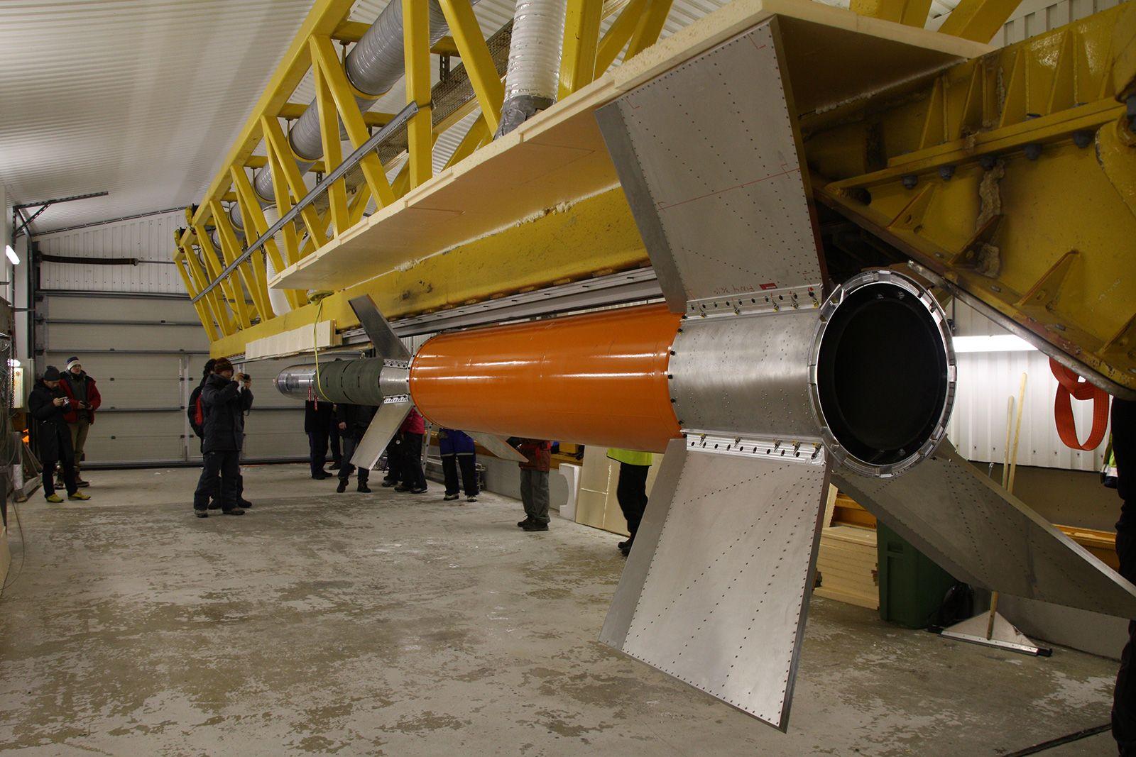 Universitetet i Oslo sin ICI-3-rakett.
