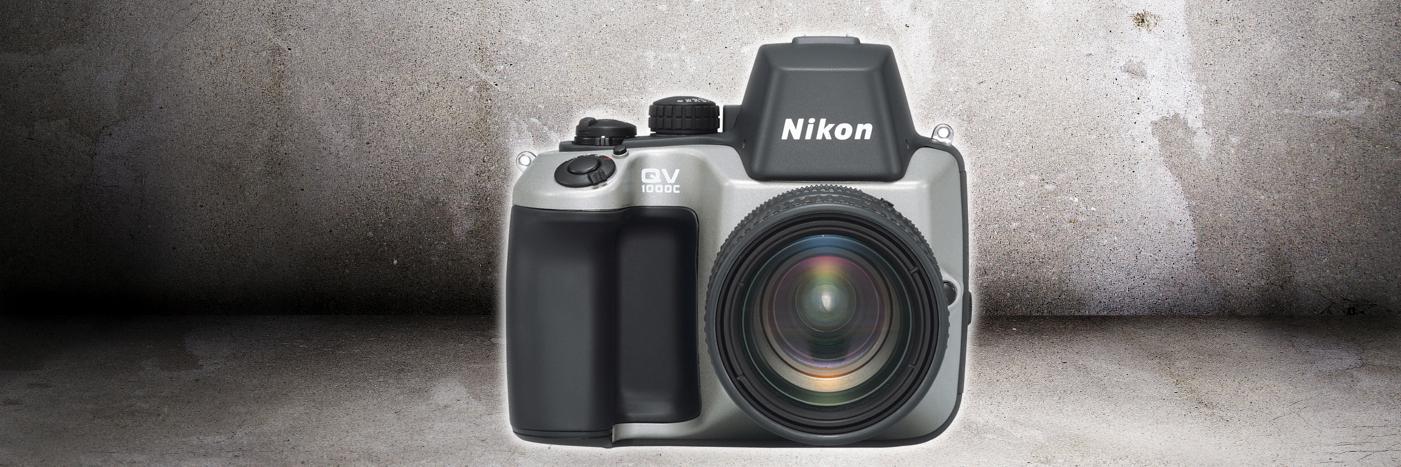 Nikons første elektroniske kamera