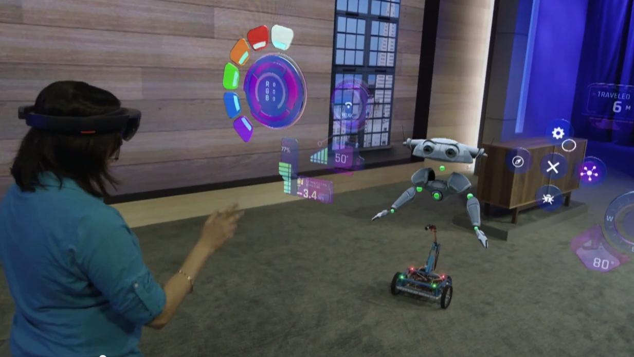 Slik skal Microsoft gjøre sine HoloLens-briller enda mer avanserte