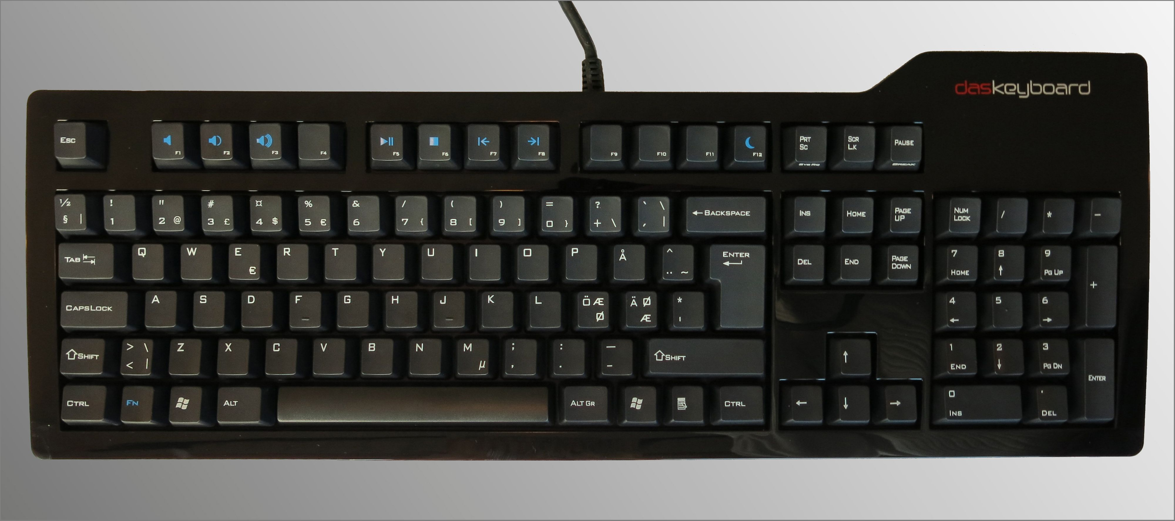 Das Keyboard Model S Professional. Foto: Torstein Sørnes, Hardware.no