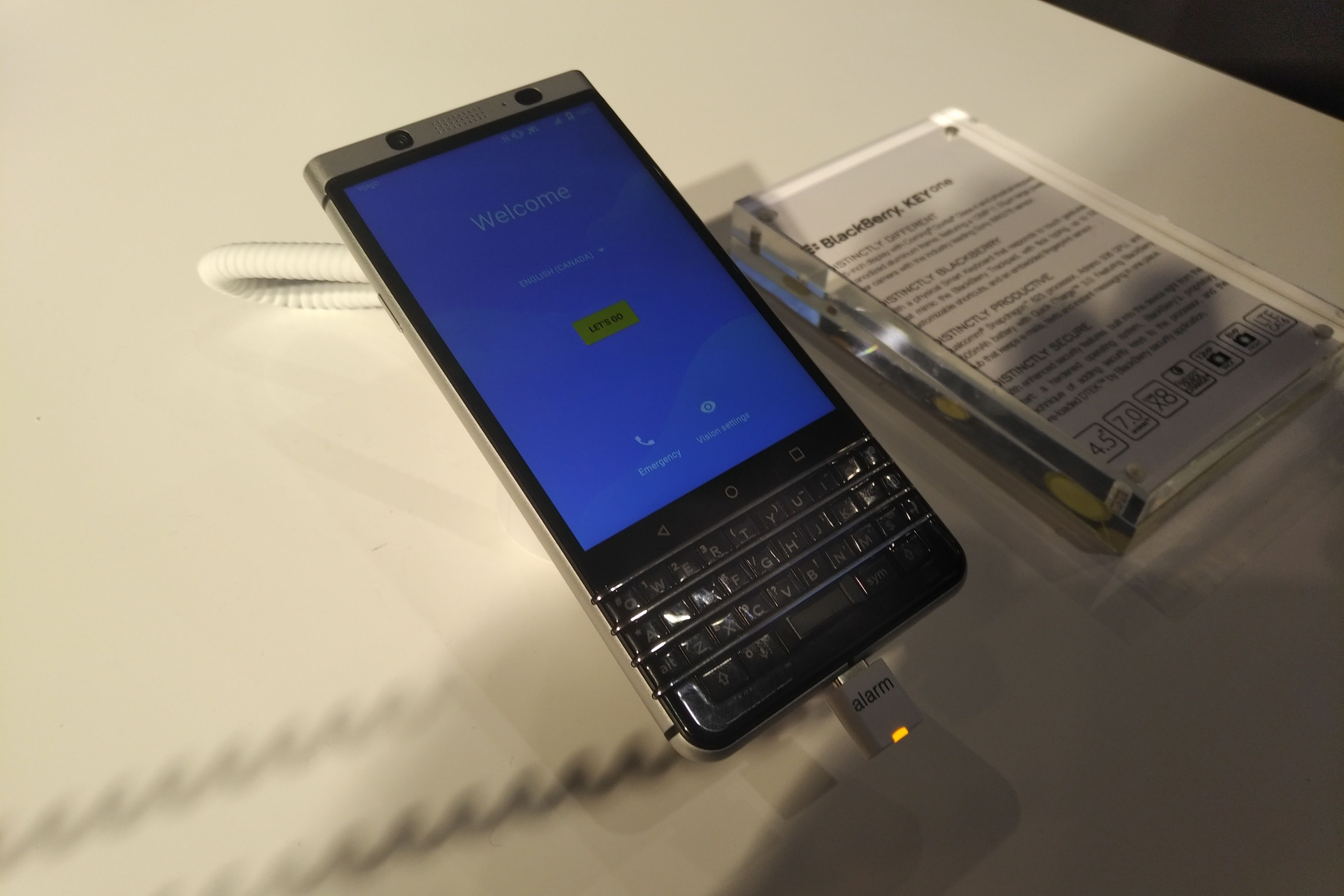 Testbilde tatt med BlackBerry KEYone.