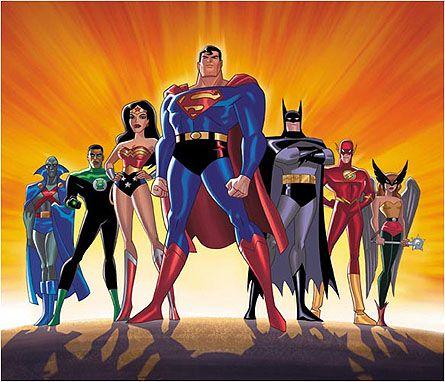 Superheltene fra Justice League.