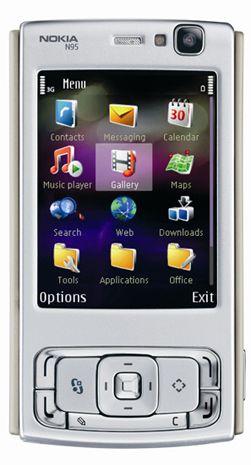 Den originale N95 er oppdatert.