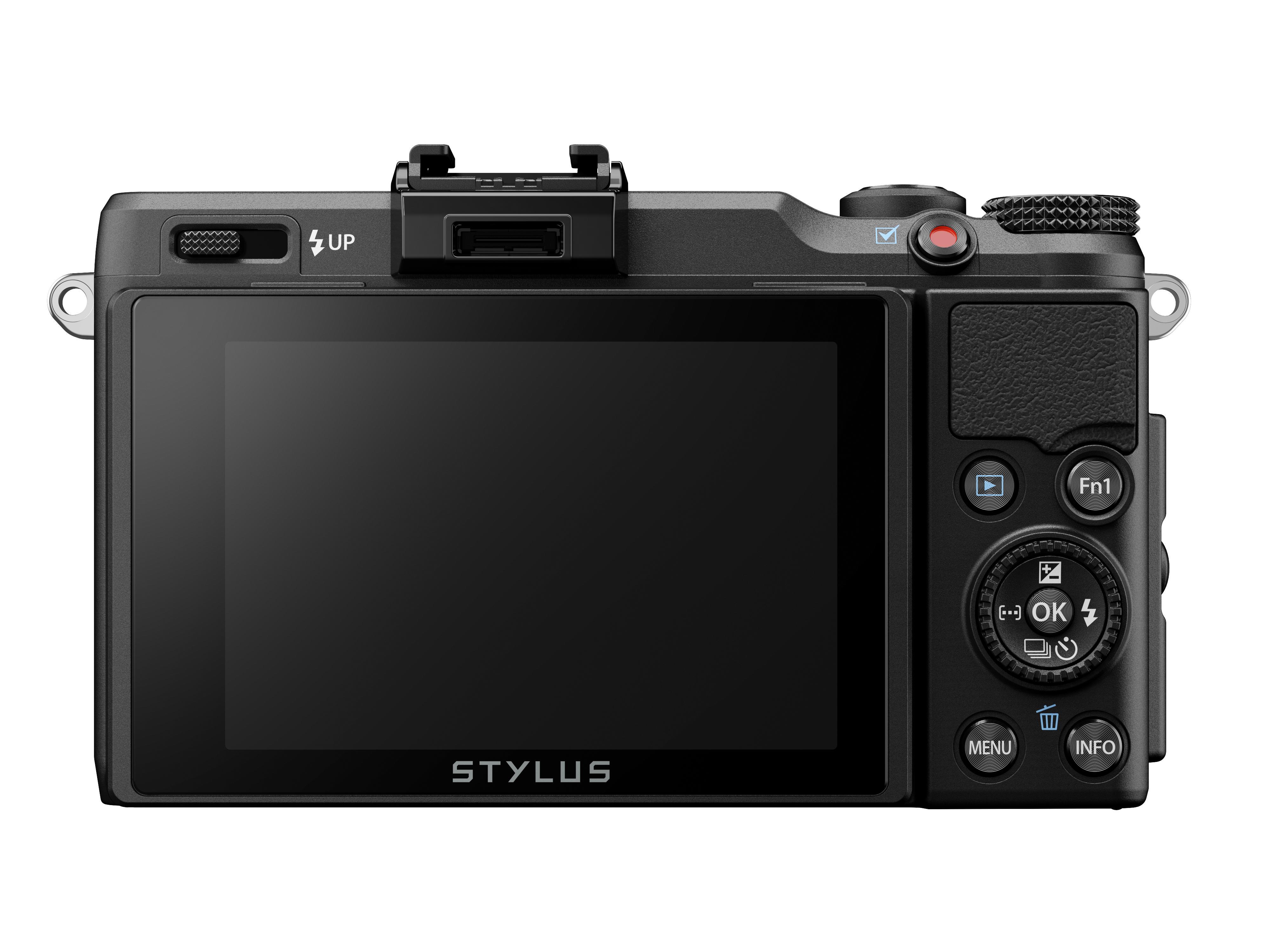 Olympus Stylus XZ-2 iHS er spekket med entusiast-muligheter, i beskjeden innpakning. .Foto: Olympus