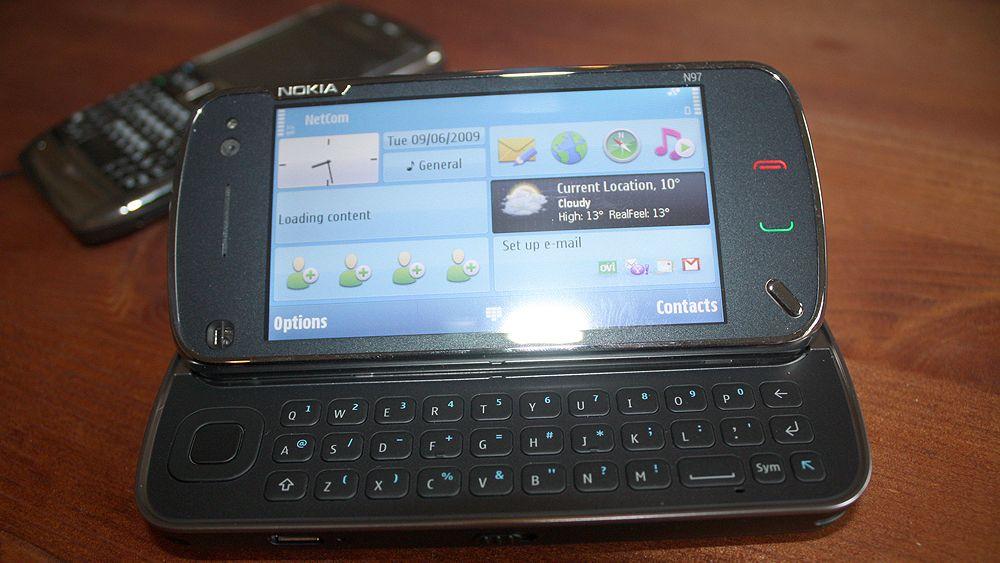 Førsteinntrykk: Nokia N97