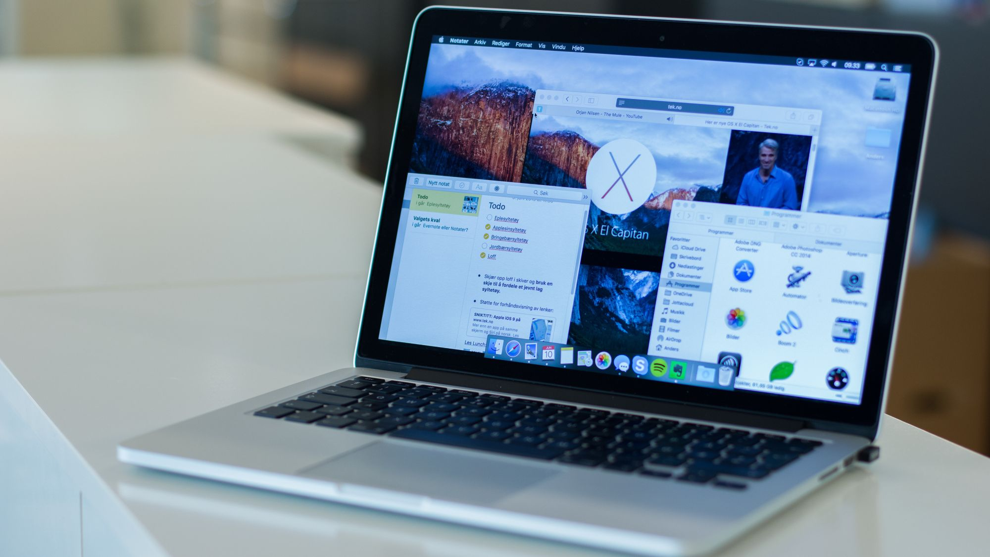 Slik blir Macen din med nye OS X «El Capitan» Sniktitt
