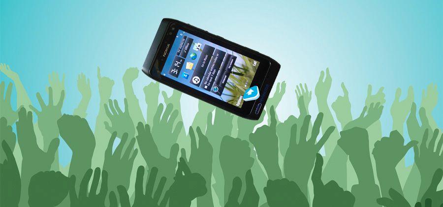 Se bilder av Nokia N8