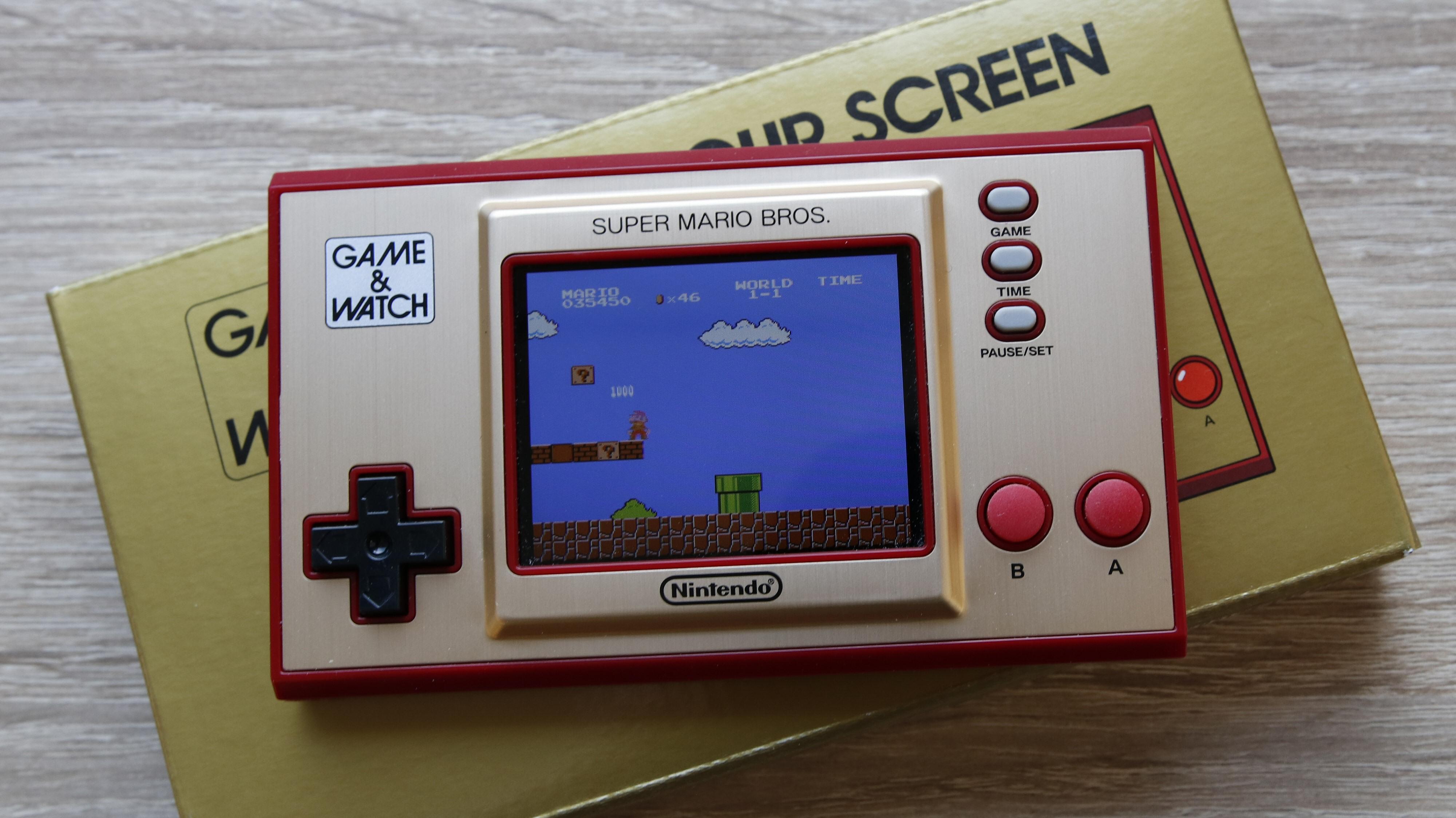 Nintendos nye Game & Watch er en hyllest til Super Mario