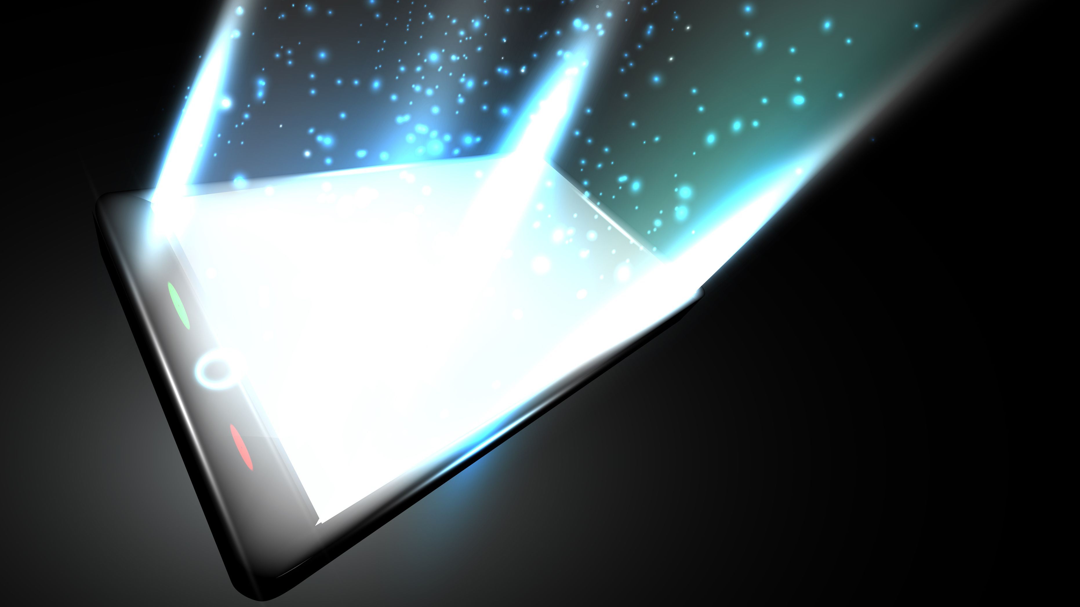 Snart kan dingsene dine hente strøm fra selve skjermen