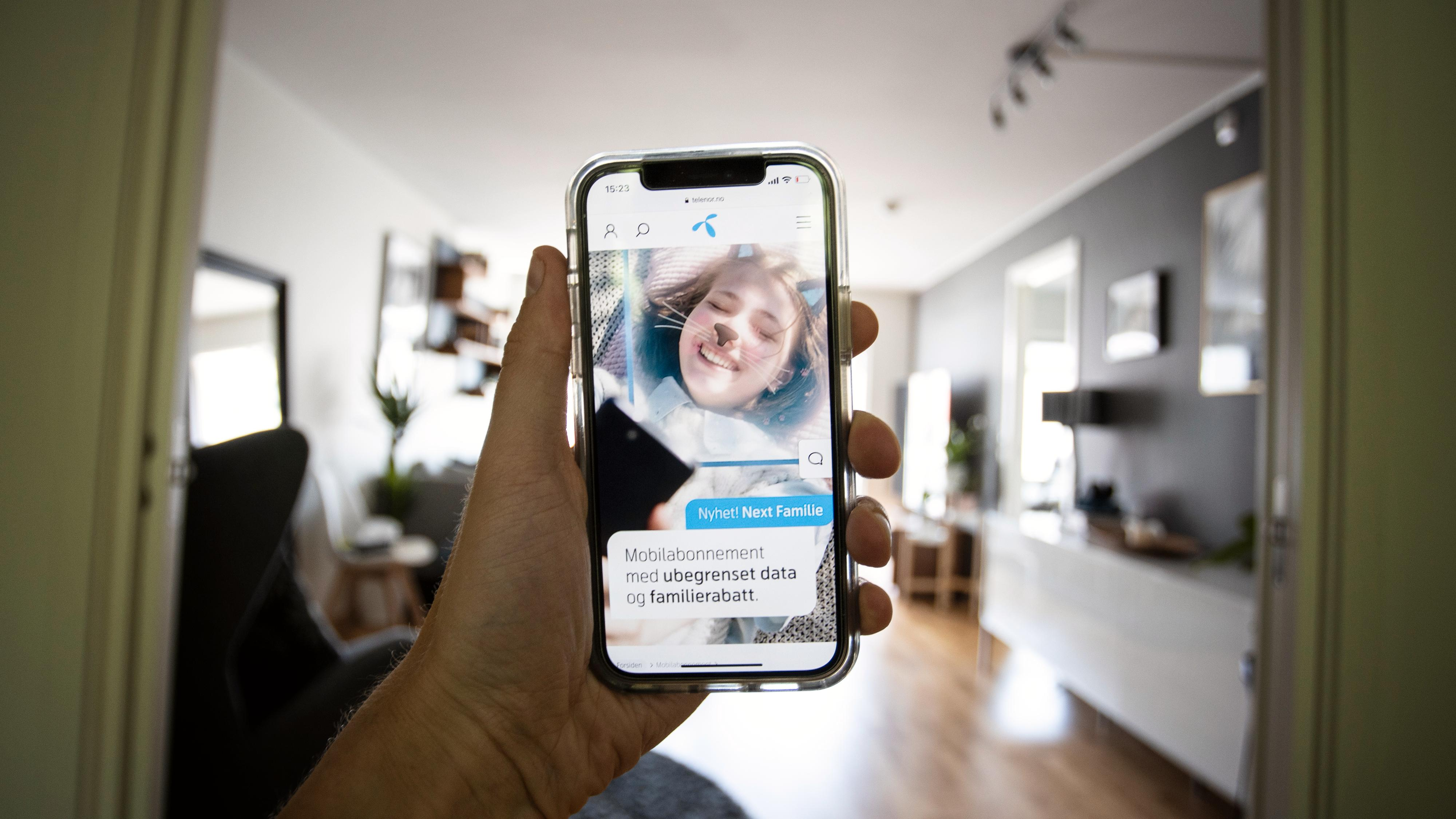 Telenor lanserer familierabatt på «ubegrenset» data