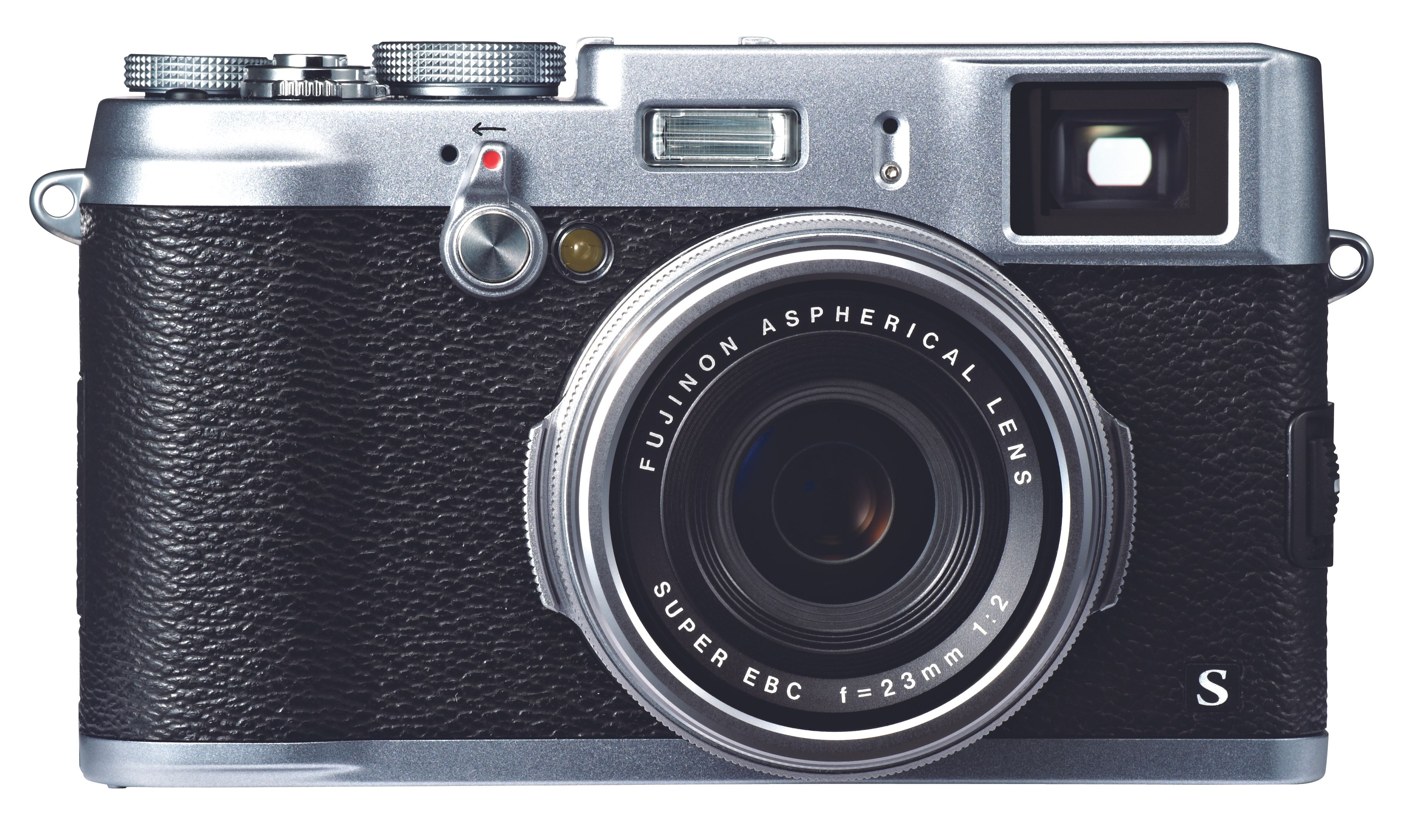 Fujifilm FinePix X100S særegne retrodesign.Foto: Fujifilm