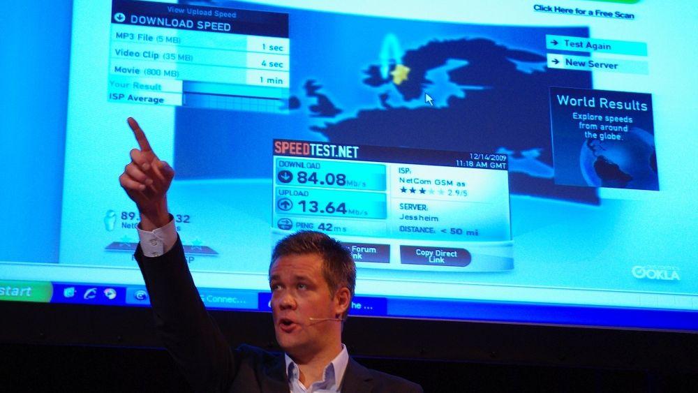 Netcom sikter mot stjernene