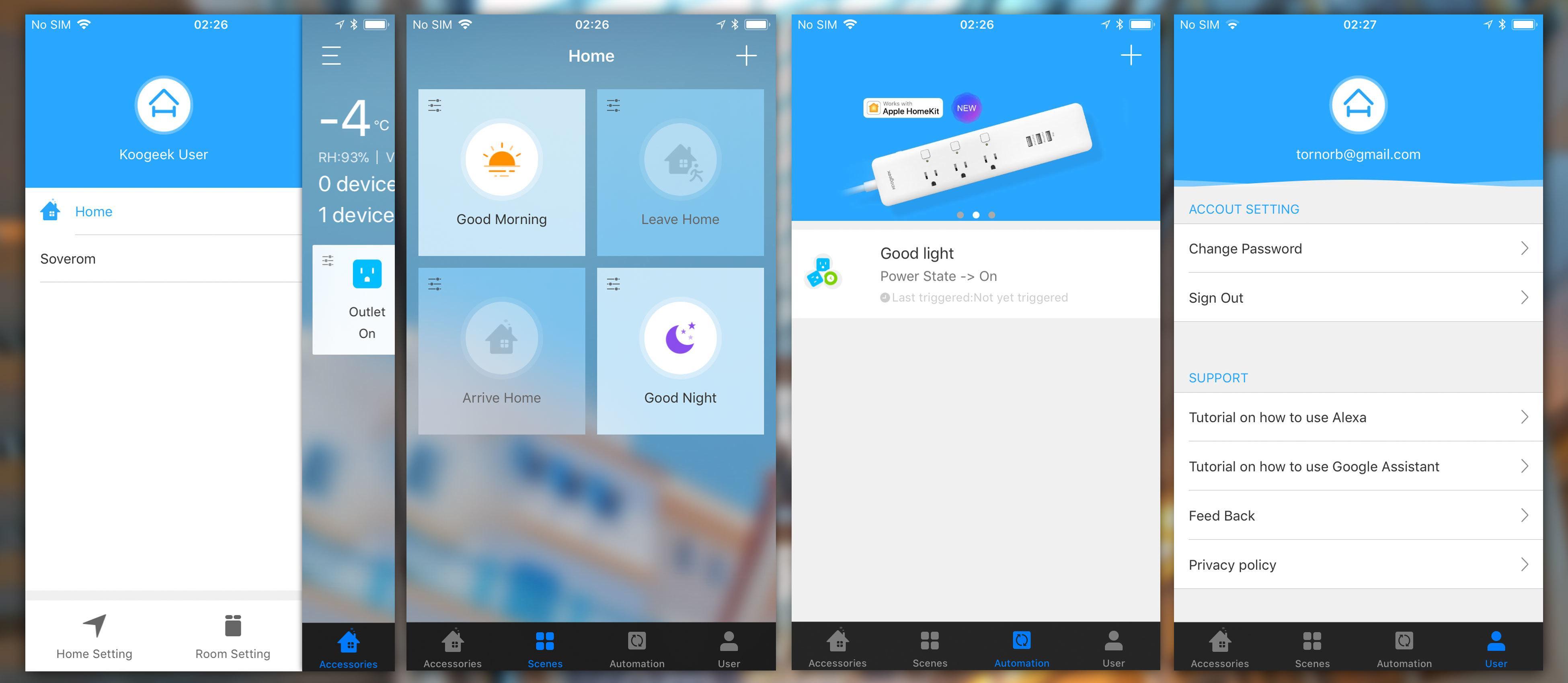 Koogeek-appen er super, men foreløpig kun til iOS.