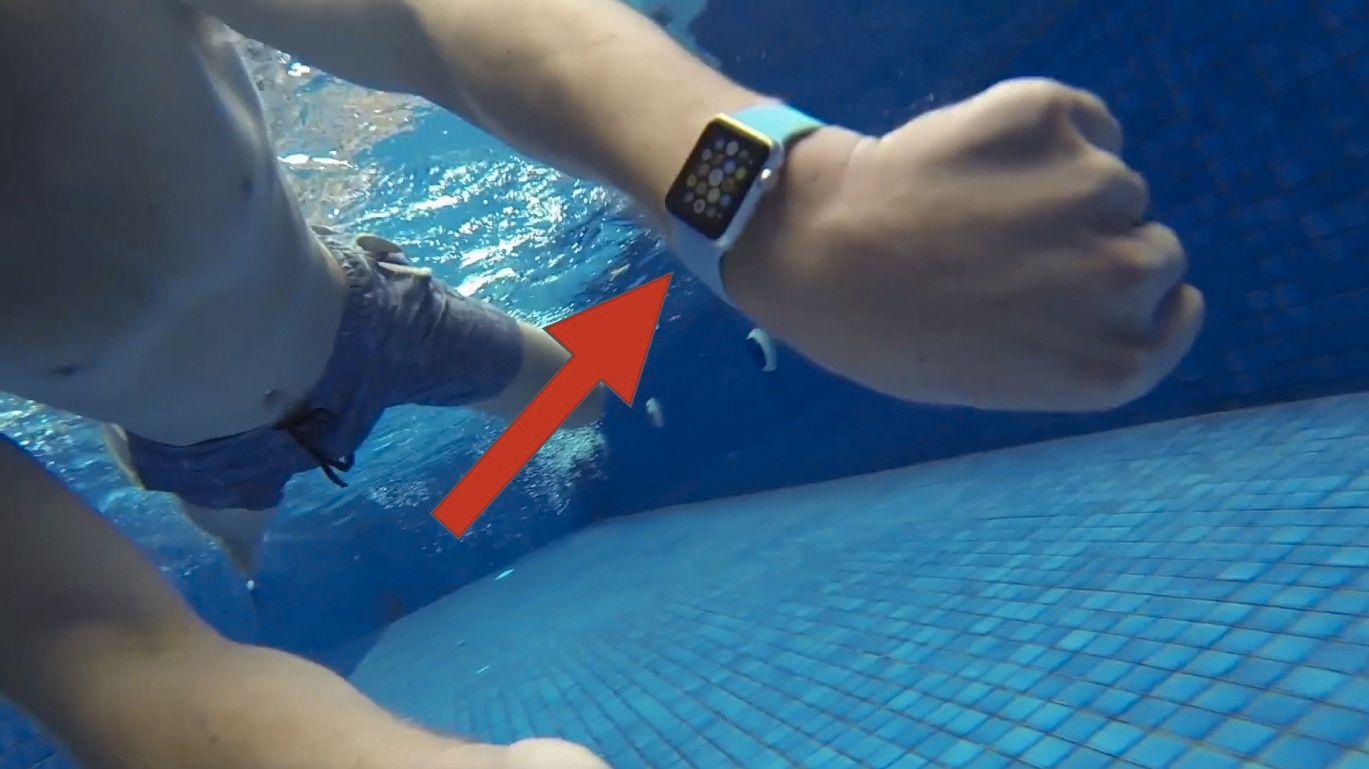 Tåler Apple Watch vann?