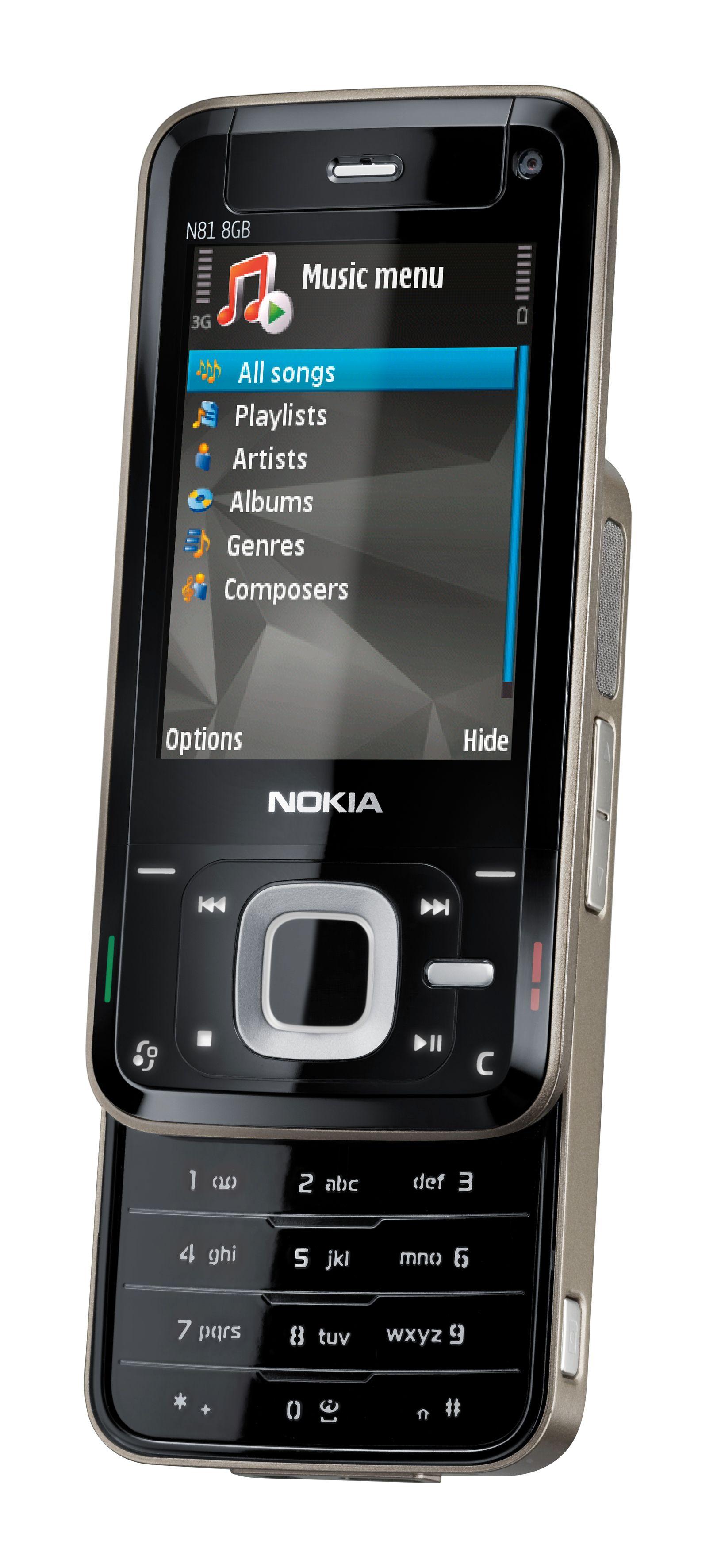 N81 er en skyvetelefon med krutt under panseret.