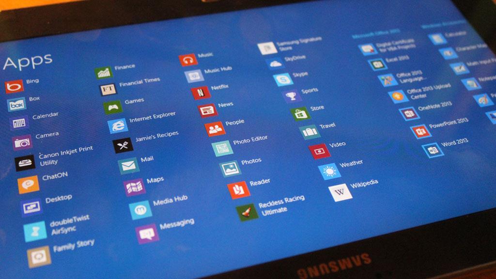 Det finnes rundt 6000 apps i Windows Store, men det er mange vi savner.Foto: Espen Irwing Swang, Amobil.no
