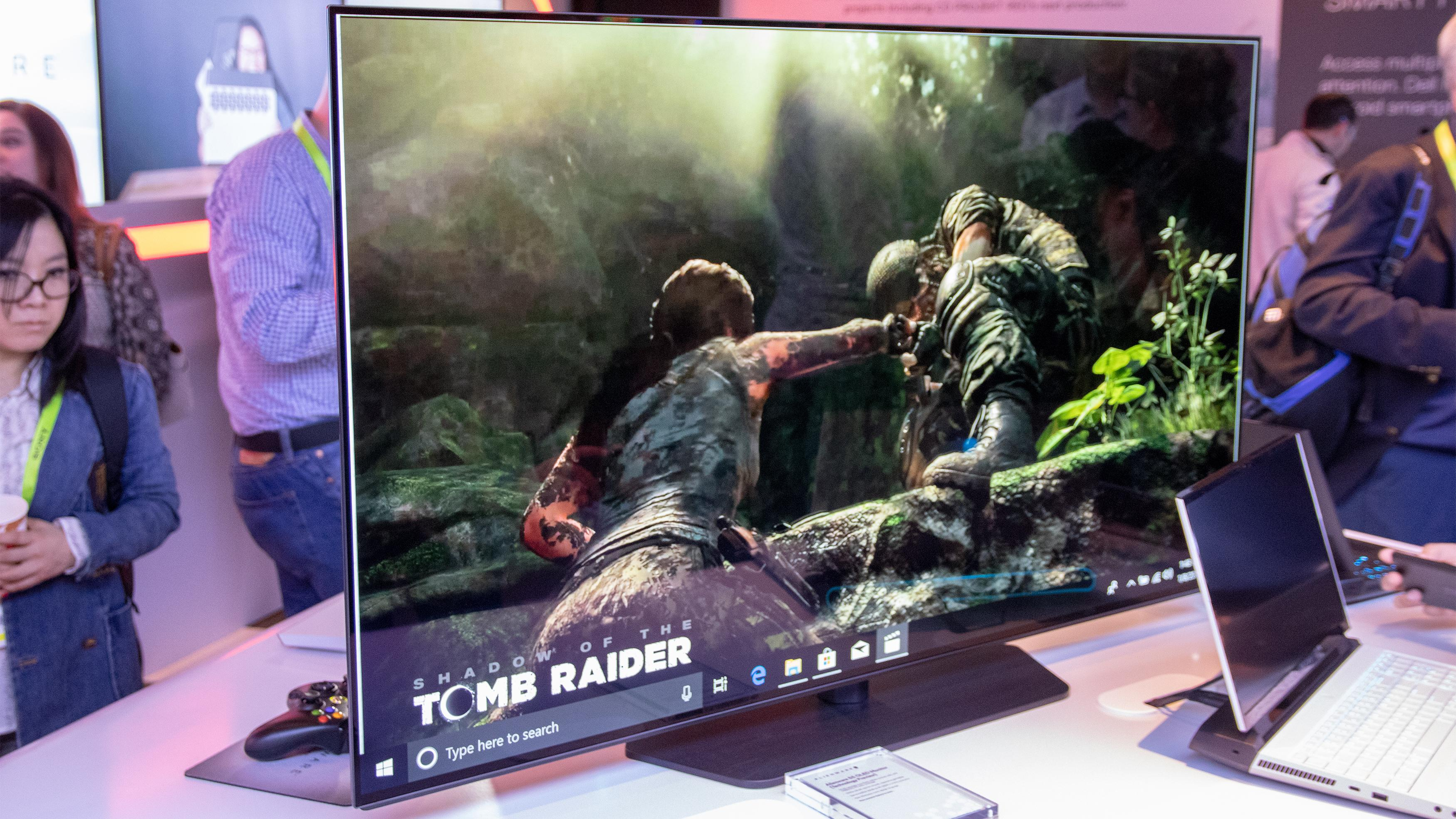 Alienwares nye OLED-spillskjerm er overlegen TV-en din