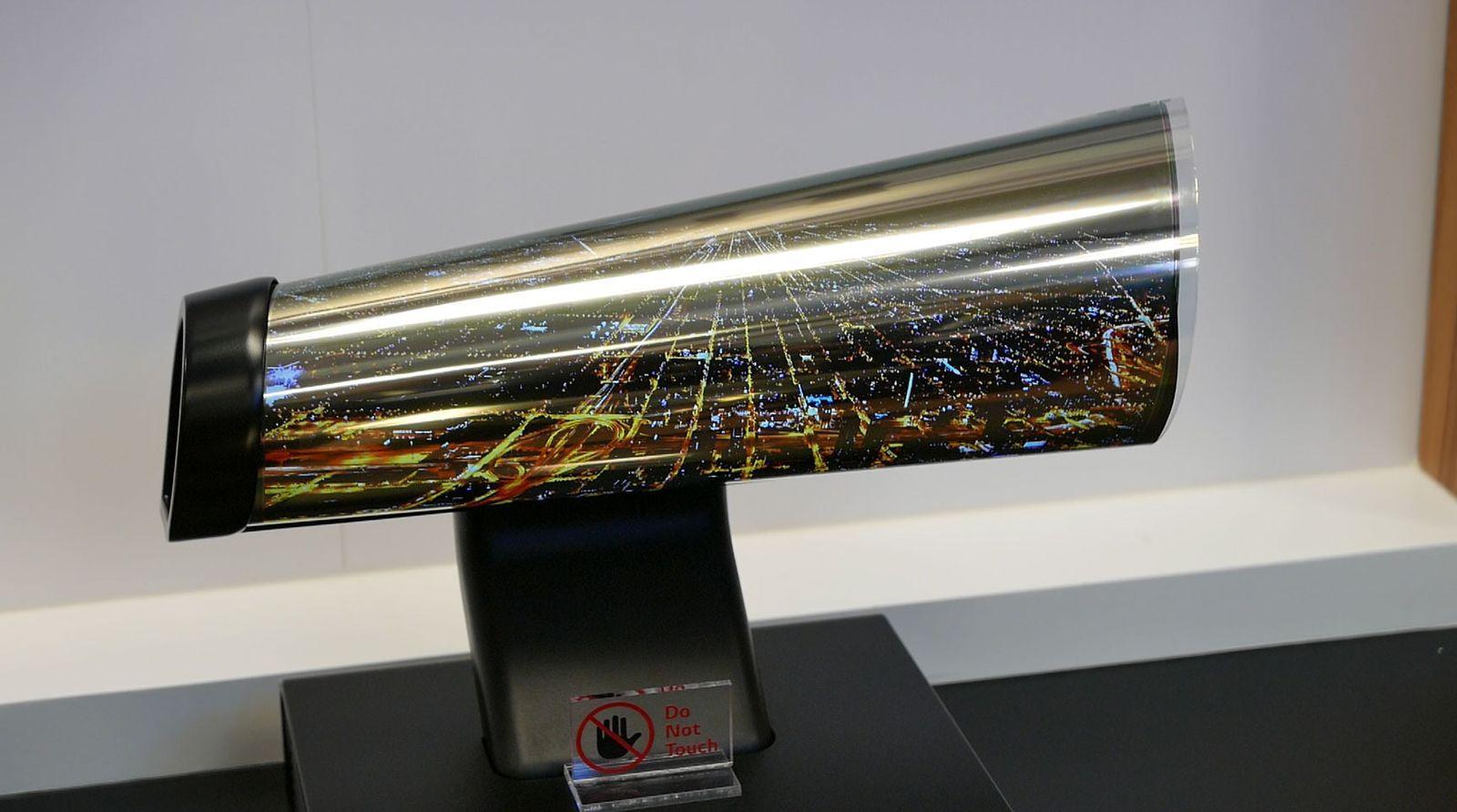 LG skal lage en «strekkbar» skjerm innen fire år