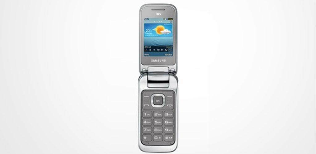 Samsung C3595 kalles også Cinnamon. .