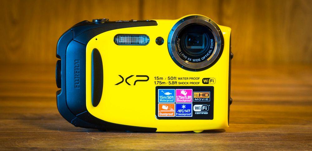 Fujifilm FinePix XP80. Foto: Kristoffer Møllevik