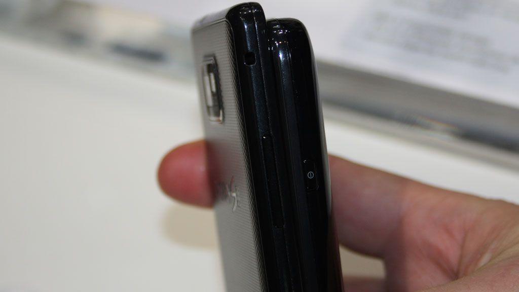 Galaxy S2 er mye tynnere en Galaxy S.