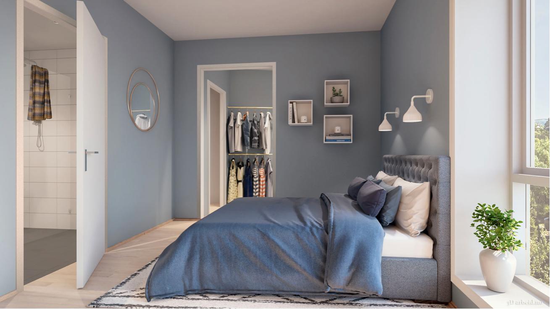 ALT ER NYTT: I Paradisalléen sover du garantert godt. Nytt, lekkert og delikat i alle rom.