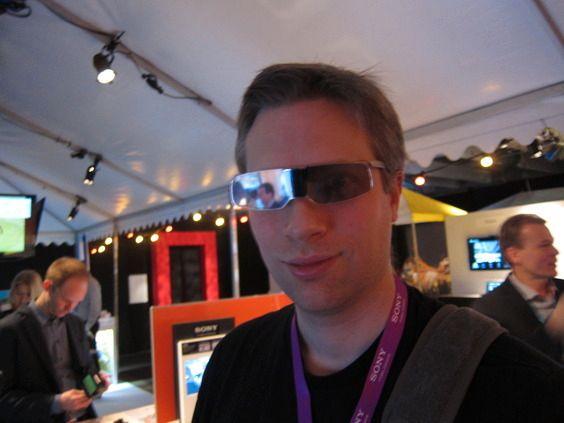 3D-briller for TV-bruk har ikke alltid vært like moteriktige. Foto: Niklas Plikk, Tek.no