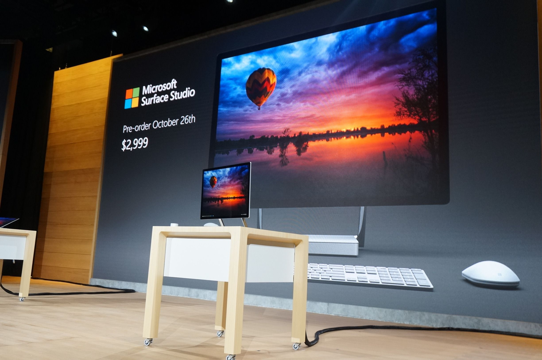 Surface Studio blir ikke billig, men det forstod vi kjapt etter at spesifikasjonene var presentert. Bilde: Stein Jarle Olsen, Tek.no