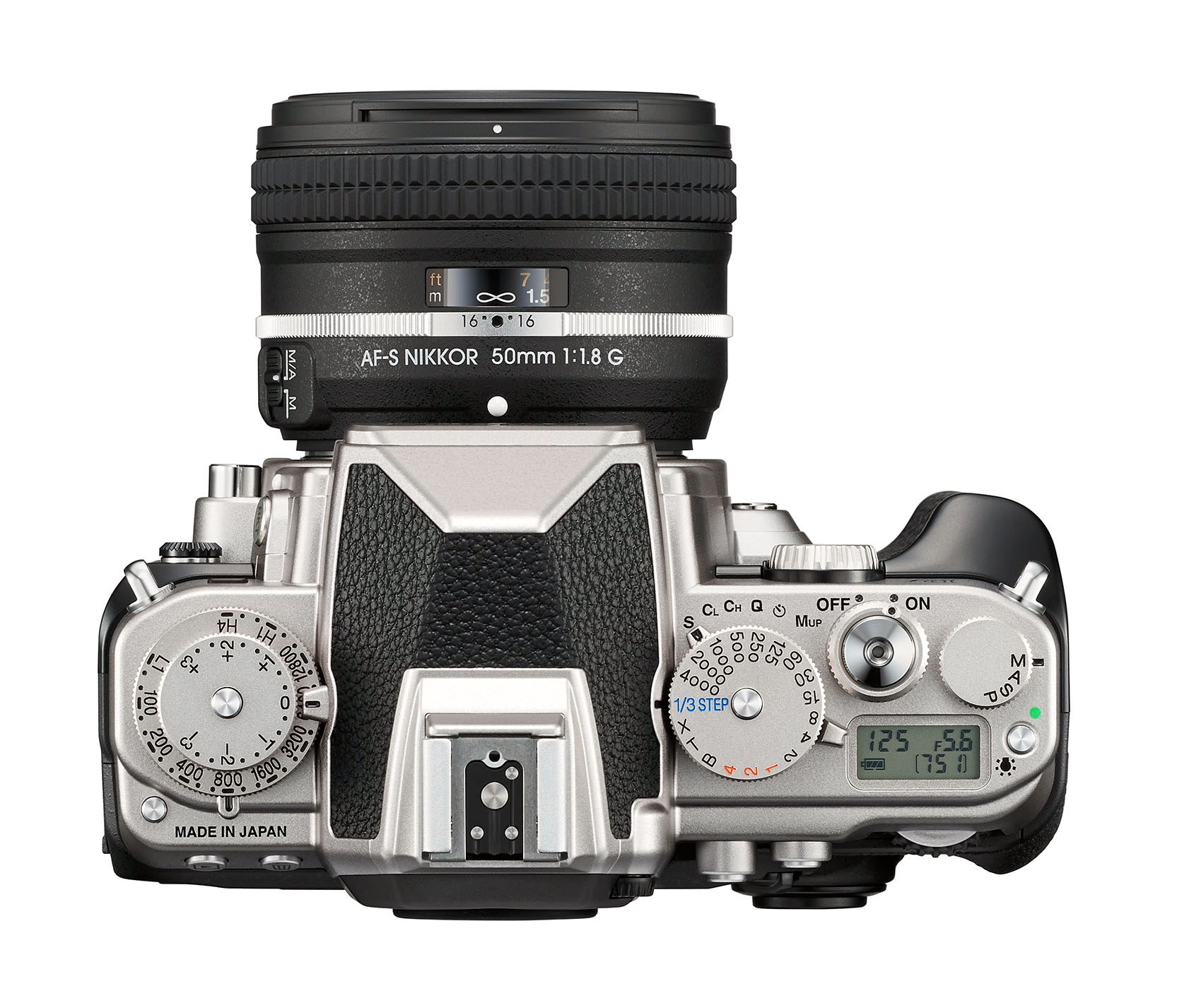 Retro, retro og retro. Nikon Df.Foto: Nikon