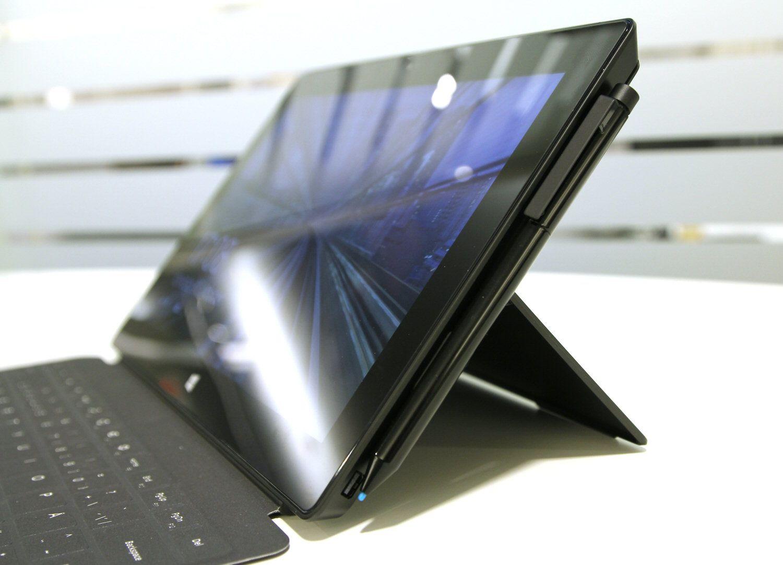 Surface Pro 2 med Touch Cover 2 tastatur.Foto: Vegar Jansen, Hardware.no