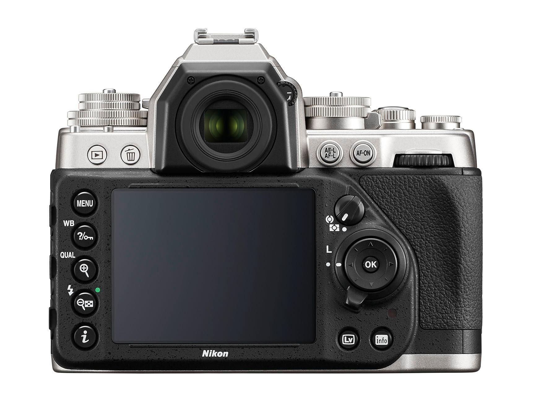 Nikon Dfs bakside. (Foto: Nikon)